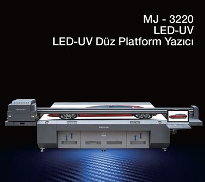 Locor MJ 3220 Led-UV Düz Platform Yazıcı resmi