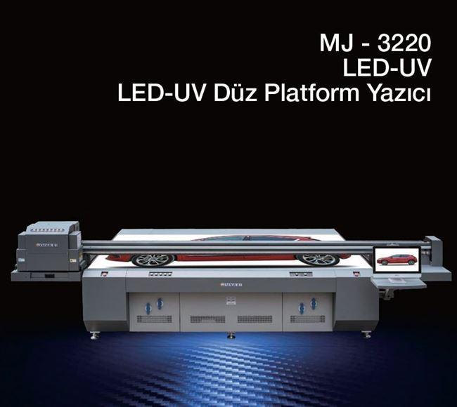 Locor MJ 3220 Led-UV Düz Platform Yazıcı resmi